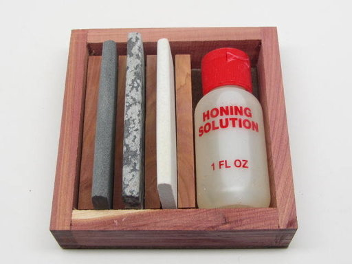 View a Larger Image of Arkansas Slip Kit w/Honing Oil