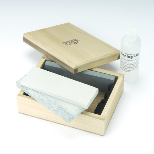 View a Larger Image of Arkansas Stone Boxed Set, 3 piece