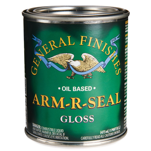 View a Larger Image of Arm R Seal Top Coat, Gloss, Pint
