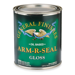 Arm R Seal Top Coat, Gloss, Quart