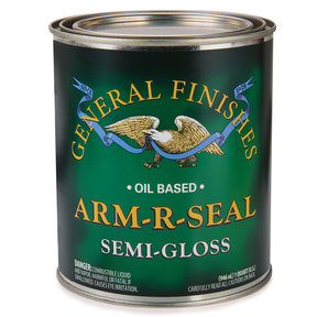 Arm R Seal Top Coat, Semi-Gloss, Quart