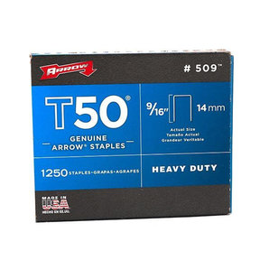 "Arrow T50 9/16"" Staples"