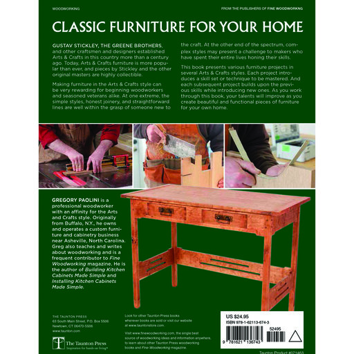 View a Larger Image of Arts & Crafts Furniture