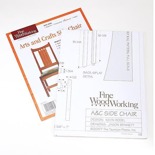 View a Larger Image of Arts & Crafts Side Chair