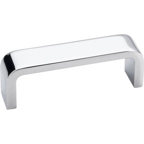 "Asher Pull, 3"" C/C, Polished Chrome"