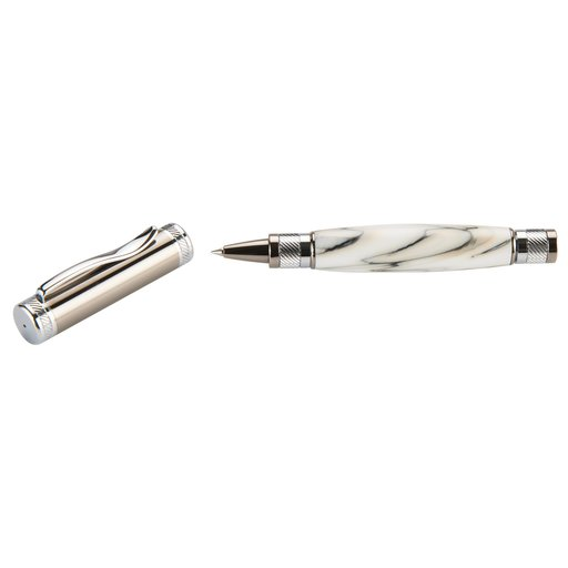 View a Larger Image of Attraction Magnetic Ballpoint Pen Kit - Gunmetal & Chrome