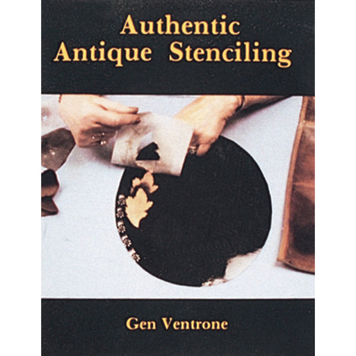 View a Larger Image of Authentic Antique Stenciling