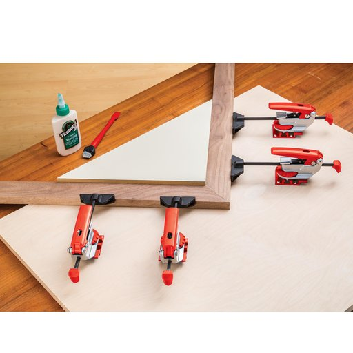 View a Larger Image of Auto Adjust In-Line T-Track Clamp
