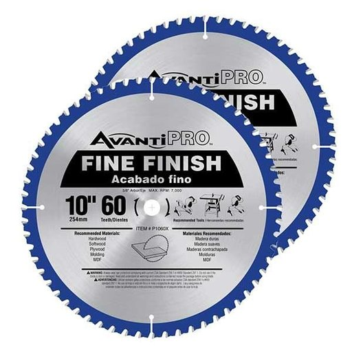 "View a Larger Image of 10"" x 60T Saw Blade Value Pack"