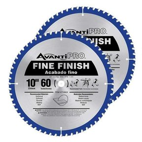 """10"""" x 60T Saw Blade Value Pack"""