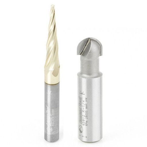 View a Larger Image of 2-piece Carving Bit Set by Amana Tool
