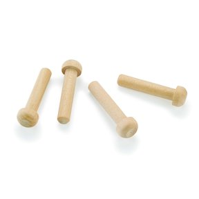 "Axle Pegs 7/32"" Diameter x 1-3/16"" Long, Maple 8-piece"