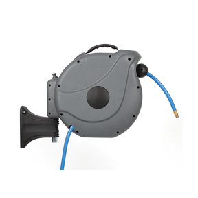 "Axtrim 3/8"" NW Retractable Air Hose Reel with 15m/50 ft. Air Hose"