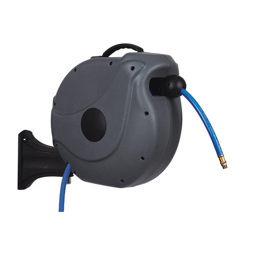 "View a Larger Image of Axtrim 3/8"" NW Retractable Air Hose Reel with 20m/65 ft. Air Hose"
