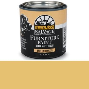 Baby I'm Amaized '- Yellow Furniture Paint, 1/2 Pint 236.6ml (8 fl. Oz.)