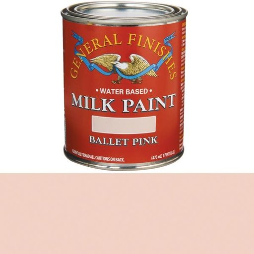 View a Larger Image of Ballet Pink Milk Paint Pint