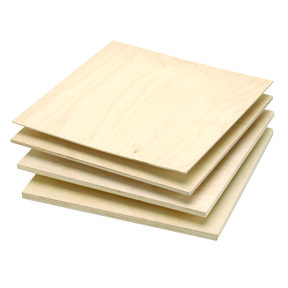 "Baltic Birch Plywood 12 mm-1/2"" x 24"" x 30"""