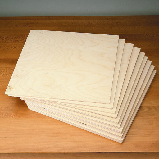 View a Larger Image of Baltic Birch Scroll Saw Pack
