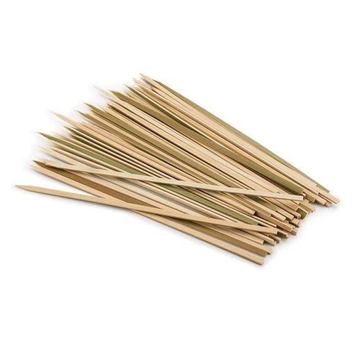 "View a Larger Image of Bamboo 12"" Flat Skewers 50pc"