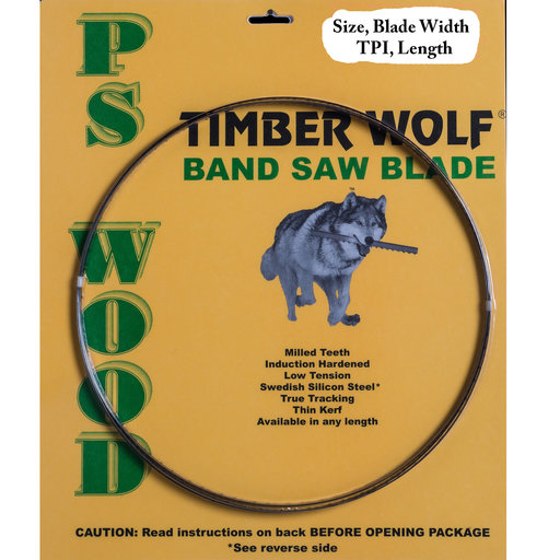 """View a Larger Image of Band Saw Blade 116"""" x 1/4"""" x 4 TPI x .025"""""""