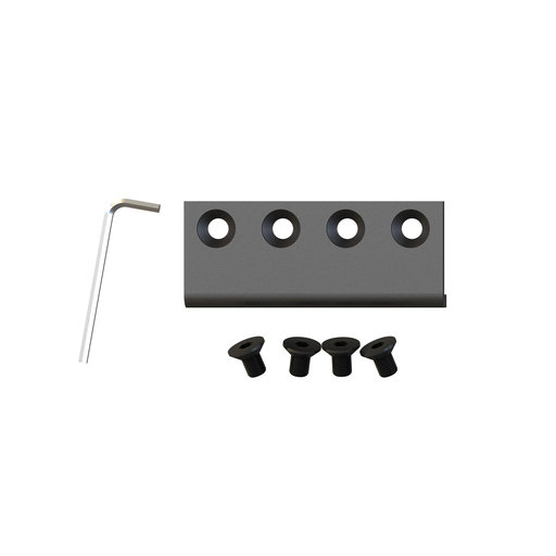 View a Larger Image of Barn Door Flat Rail Connector