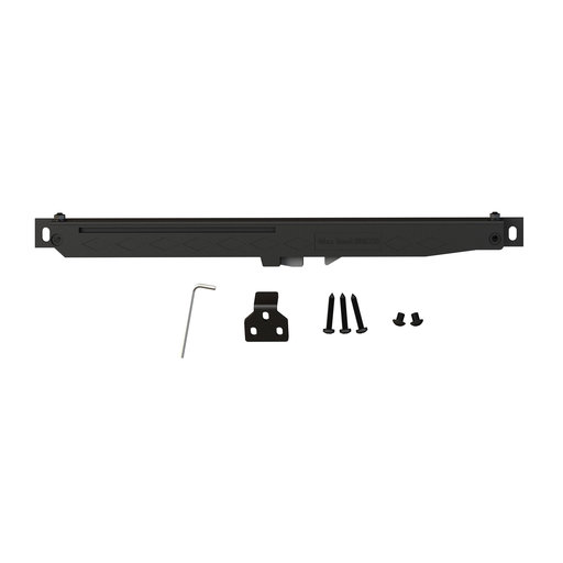 View a Larger Image of Barn Door Flat Rail Soft Close Accessory Kit