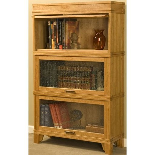 View a Larger Image of Barrister Bookcase - Downloadable Plan