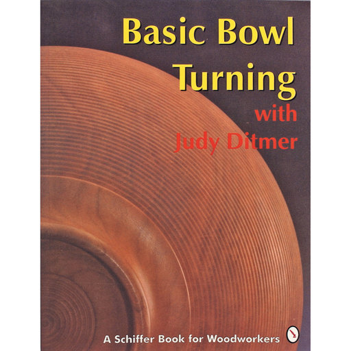 View a Larger Image of Basic Bowl Turning with Judy Ditmer