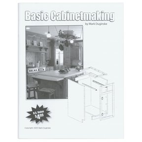 Basic Cabinetmaking Booklet