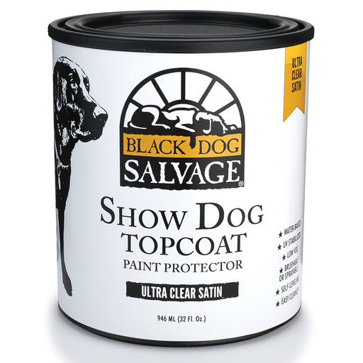 View a Larger Image of BDS Satin Show Dog Paint Protector & Top Coat Quart