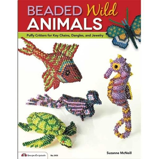 View a Larger Image of Beaded Wild Animals
