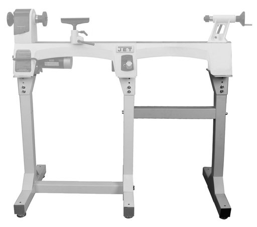 View a Larger Image of Bed Extension Stand for Jet JWL-1015 and 1015VS Lathes
