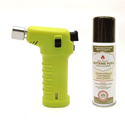 View a Larger Image of Bella Tavola Mini Torch Combo - Green