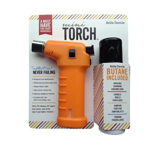 View a Larger Image of Bella Tavola Mini Torch Combo - Orange