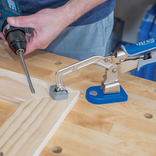 """View a Larger Image of 3"""" Bench Clamp System For Bench Dog Holes"""