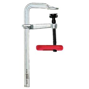 "Medium Duty All-steel Bar Clamp with Tommy Bar, 4.75"" Throat Depth, 18"" Clamping Capacity, 1800 lbs Clamping Force"