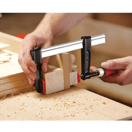 "View a Larger Image of Tradesman Professional Series Bar Clamp, 6"" Capacity, 2-1/2"" Throat Depth"