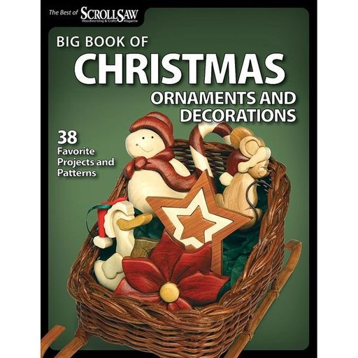 View a Larger Image of Big Book of Christmas Ornaments and Decorations