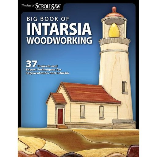 View a Larger Image of Big Book of Intarsia Woodworking