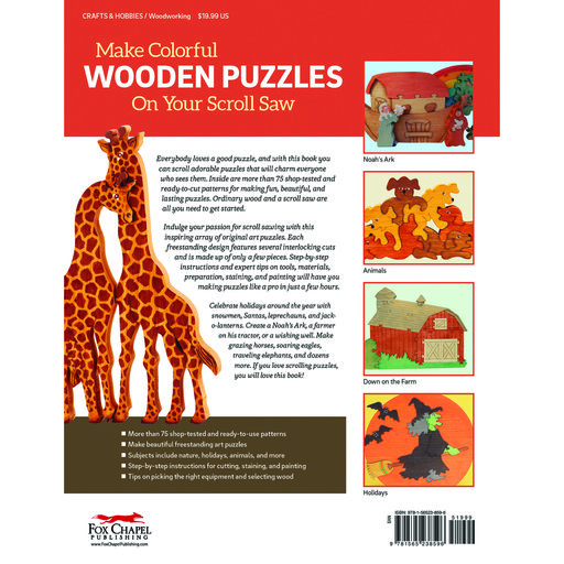View a Larger Image of Big Book of Scroll Saw Puzzles