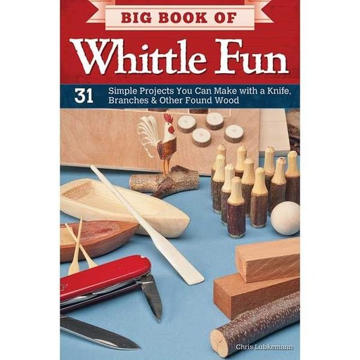 View a Larger Image of Big Book of Whittle Fun