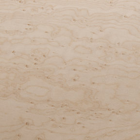 Birdseye Maple, Medium Eye 4'X8' Veneer Sheet, 3M PSA Backed