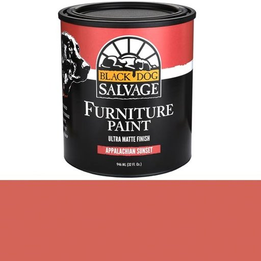 View a Larger Image of Appalachian Sunset - Red Furniture Paint Quart 946ml (32 fl. oz.)