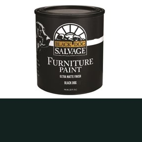 'Black Dog' - Black Furniture Paint, Quart 946ml (32 fl. oz.)