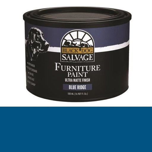 View a Larger Image of 'Blue Ridge' - Blue Furniture Paint, PintPlus 500ml (16.907 fl. oz.)