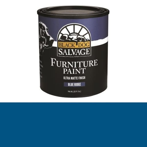 View a Larger Image of 'Blue Ridge' - Blue Furniture Paint, Quart 946ml (32 fl. oz.)