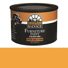 'Caution: Dogs at Work' - Orange Furniture Paint, PintPlus 500ml (16.907 fl. oz.)