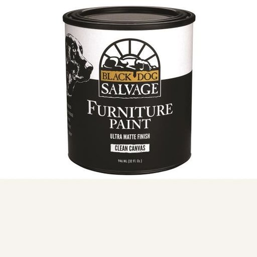 View a Larger Image of 'Clean Canvas' - White Furniture Paint, Quart 946ml (32 fl. oz.)