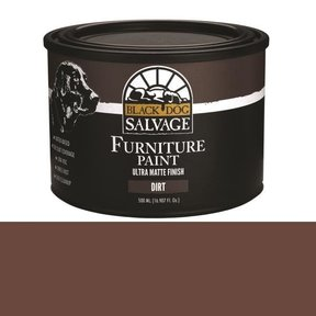 'Dirt' - Brown Furniture Paint, PintPlus 500ml (16.907 fl. oz.)