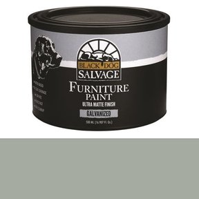 'Galvanized' - Gray Furniture Paint, PintPlus 500ml (16.907 fl. oz.)